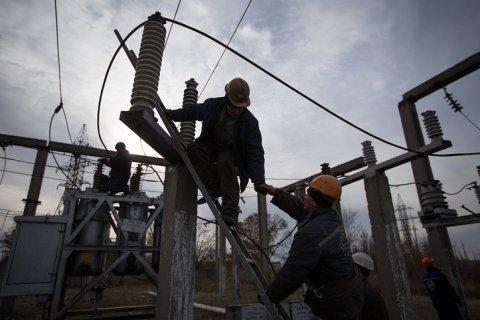 Украина прекратила энергоснабжение ЛНР