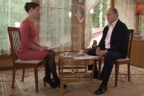 Зюганов: воровство голосов на выборах подтолкнет людей к восстанию