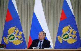 Путин признал, что каждое второе преступление в России не раскрывается