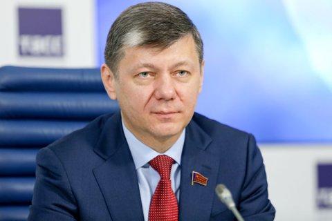 Дмитрий Новиков выступил против размещения «миротворцев» на границе России и Украины