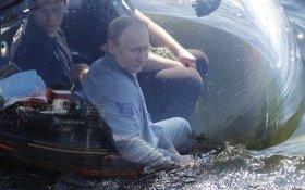 Путин погрузился на дно. «На земле много проблем»