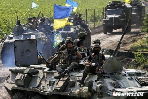 Украинская армия отступила из-под Дебальцево