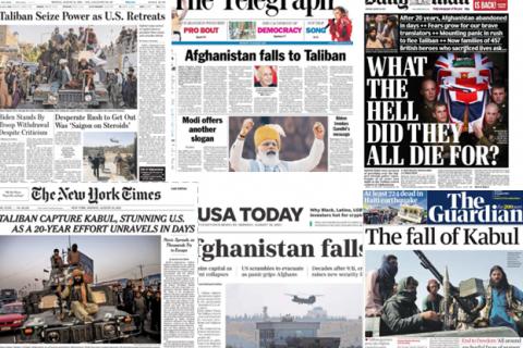 «За что, черт возьми, они умерли?» Западные газеты подводят итог 20-летней Афганской войне
