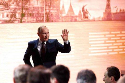 Опрос: Пресс-конференция Путина оставили равнодушными более половины россиян