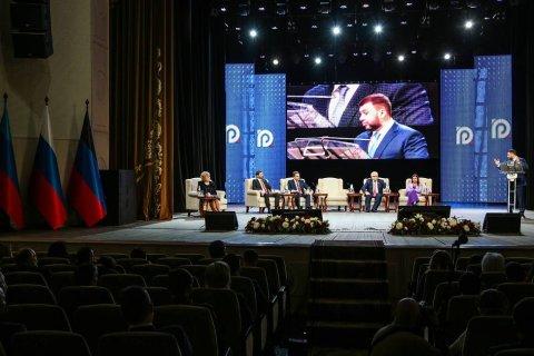 «Россия, матушка, забери Донбасс домой». Главы ДНР и ЛНР заявили о будущем Донбасса с Россией