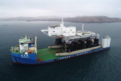 Путин дал указание восстановить плавучий космодром «Морской старт»