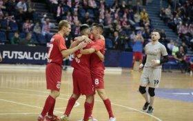 Мини-футбольный клуб КПРФ победил в первом матче Лиги чемпионов
