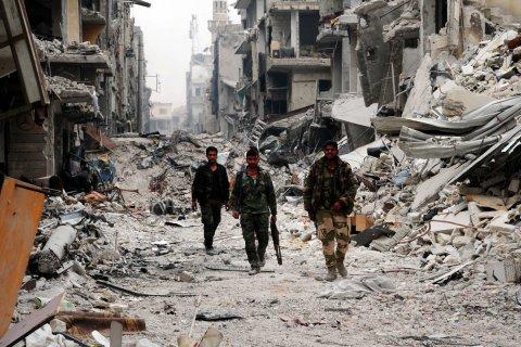 Минобороны: Россия высокими темпами восстанавливает Сирию