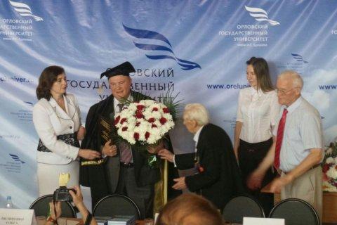 Геннадий Зюганов стал почетным доктором Орловского университета