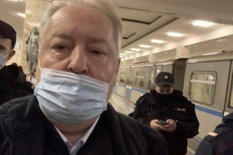 Полиция задержала в московском метро депутата КПРФ Сергея Обухова