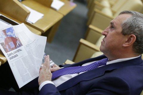 Бывший депутат «Единой России»-«Справедливой России» обвинен в получении взяток на 3 млрд рублей