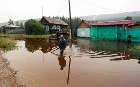 Пострадавшими от паводка в Иркутской области признаны 45 тысяч человек