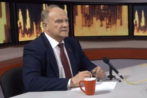 Геннадий Зюганов: «Наша программа в любом случае победит программу правительства Медведева»