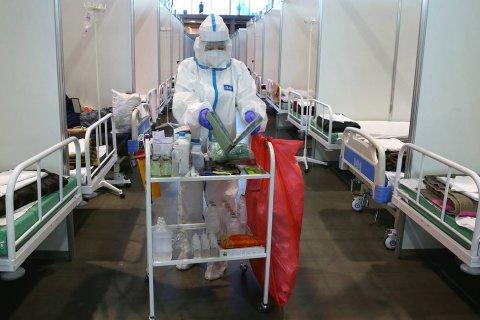 В Санкт-Петербурге из-за роста заболеваемости коронавирусом снова открывают временные госпитали