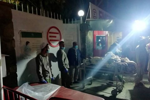 В результате терактов в Кабуле пострадало более 1 300 человек, более 100 погибло
