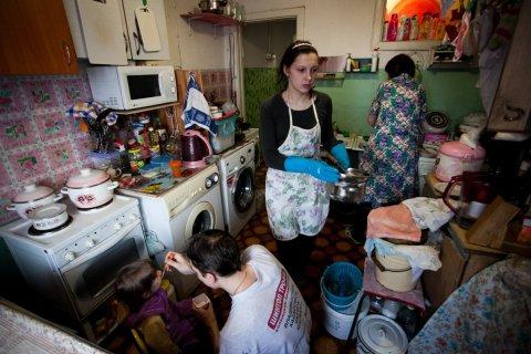 У 40% россиян нет денег на еду и одежду