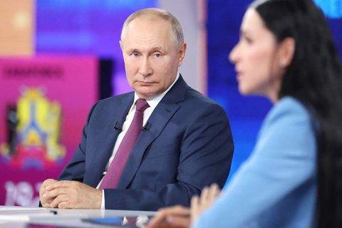 Путин высказался против обязательной вакцинации в России