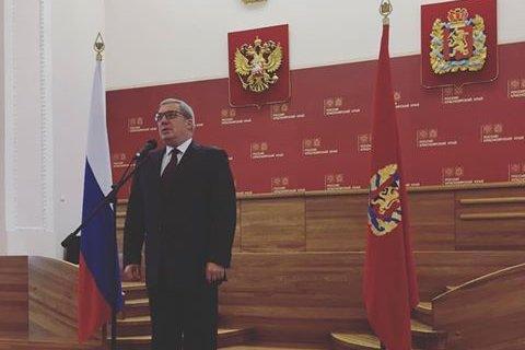 «Губернаторопад» усиливается. Губернатор Красноярского края: Я ухожу и даже уезжаю