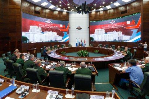 Сергей Шойгу: Силам, которые пытаются принизить достижения России, может противостоять только наращивание военно-технического потенциала