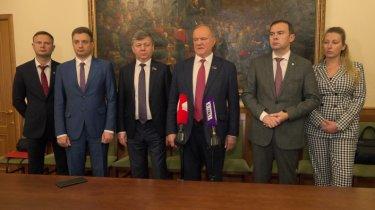 Брифинг Г.А.Зюганова по итогам заседания Президиума ЦК КПРФ (28.09.2021)