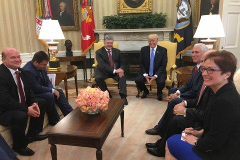 Порошенко встретился с Трампом. Подробности