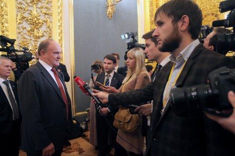 Геннадий Зюганов прокомментировал послание Путина Федеральному Cобранию