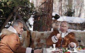 Путин снова на четыре дня ушел «в тайгу»