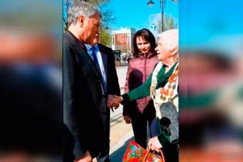Пенсионерка отчитала Володина за бедность в стране и коррупцию