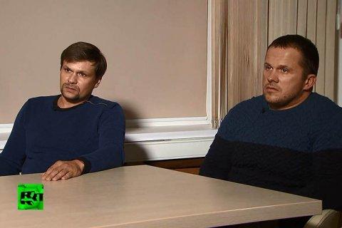 Подозреваемые в отравлении Скрипалей объяснили поездку в Солсбери интересом к шпилю собора