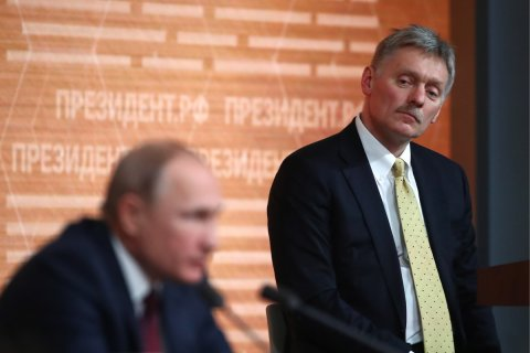 Песков объяснил слова Путина про «анти-Россию»