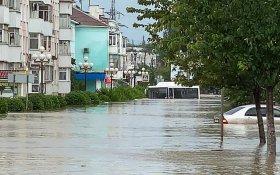 Наводнение в Крыму. В Ялте объявлен режим чрезвычайной ситуации