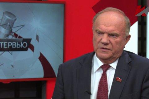 Время требует решительных действий. Интервью Геннадия Зюганова телеканалу «Красная Линия»