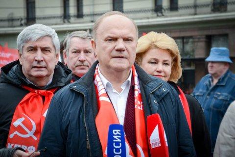 Геннадий Зюганов направил телеграмму в Ульяновск с протестом против переименования площади Ленина