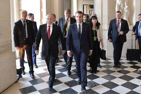 Путин и Макрон обсудили двусторонние отношения, Украину и Сирию