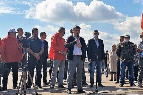 Дмитрий Новиков на акции протеста в Ульяновске: КПРФ будет наращивать борьбу за честные выборы