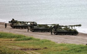 Российские военные проводят масштабные учения на Курилах