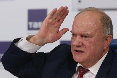 Геннадий Зюганов: участие Собчак в президентских выборах превращает их в посмешище