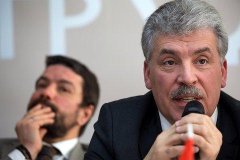 Павел Грудинин: Избирательная кампания превратилась в «битву без правил»