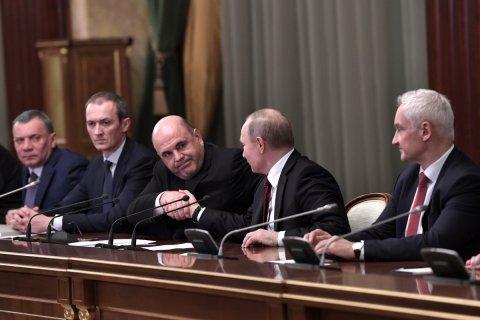 Владимир Путин определил структуру и состав нового правительства Мишустина