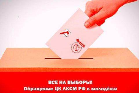 Российские комсомольцы призвали молодежь проголосовать на выборах 13 сентября