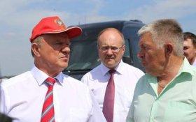 Геннадий Зюганов посетил Знаменский район Орловской области