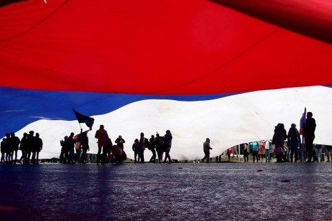 Опрос: Больше половины россиян не видят народного единства