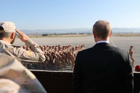 Путин обосновал нахождение российских войск в Сирии выгодой для военно-промышленного комплекса