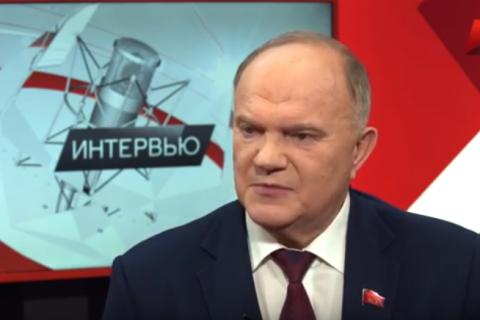 Интервью Г.А.Зюганова к 25-летию КПРФ