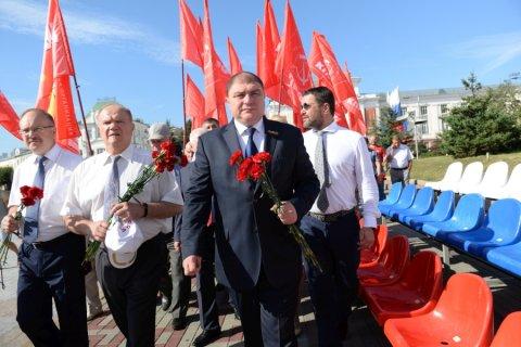 Геннадий Зюганов поздравил орловчан с 74-й годовщиной освобождения города Орла от немецко-фашистских захватчиков