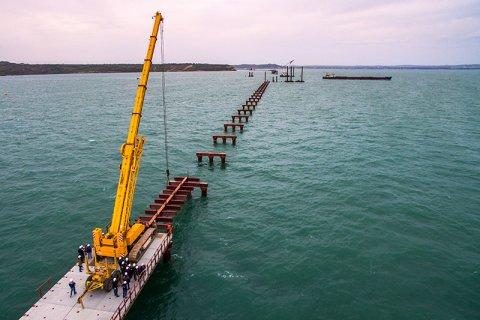 Стоимость строительства Керченского моста составит 227,9 млрд рублей