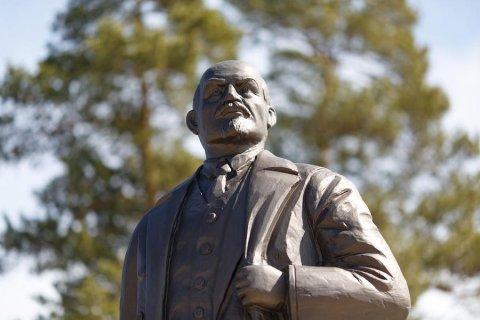 В Иркутской области открыли памятник Ленину