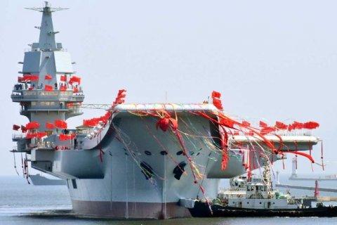 Китай принял в состав флота второй авианосец
