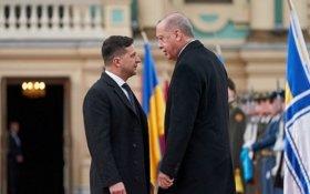 Эрдоган заявил Зеленскому, что Турция не признает Крым российским