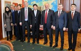 Геннадий Зюганов провел переговоры с представителями международного отдела  ЦК  компартии Китая